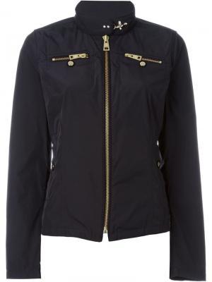 Куртка с застежкой-молнией Fay. Цвет: чёрный