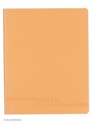 Бежевый (ДИК164802) ДНЕВНИК (ИСКУССТВ. КОЖА) Канц-Эксмо. Цвет: бежевый