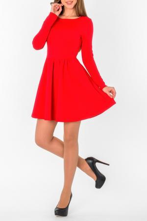 Платье S&A style. Цвет: красный