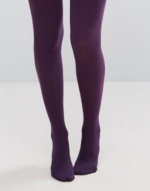 Gipsy Цветные колготки Damson. Цвет: фиолетовый