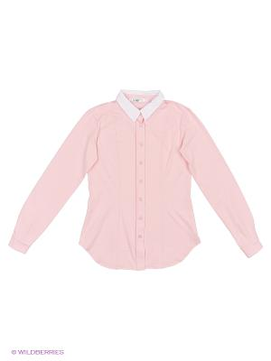 Блузка LIK. Цвет: розовый