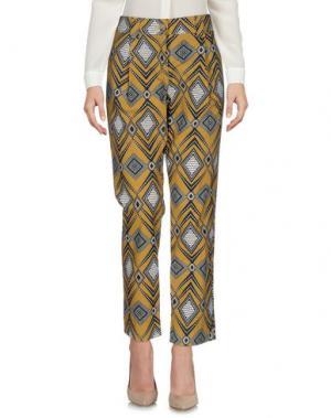 Повседневные брюки DIXIE. Цвет: верблюжий