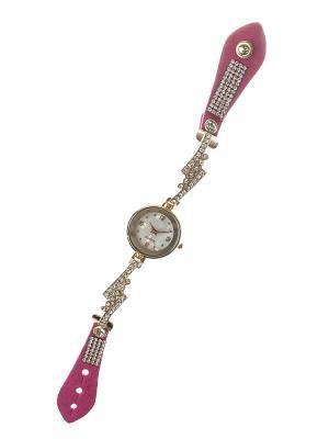 Браслет-часы Migura. Цвет: розовый, золотистый, белый, серебристый