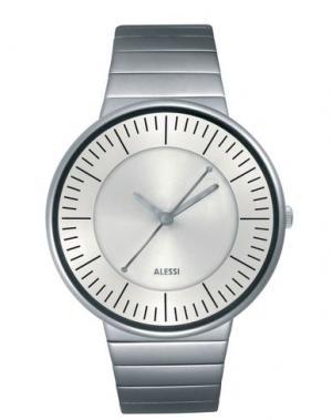 Наручные часы ALESSI. Цвет: серебристый