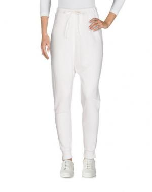 Повседневные брюки CLU. Цвет: белый
