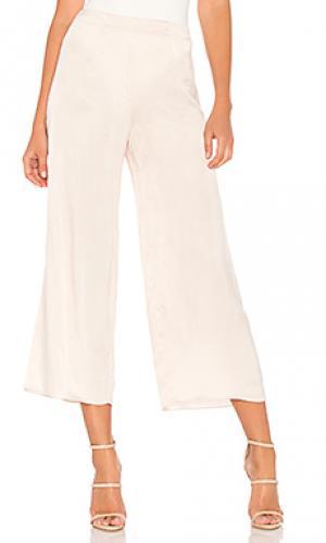 Широкие брюки 207 LPA. Цвет: кремовый