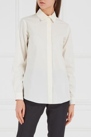 Рубашка молочного цвета Gucci. Цвет: молочный