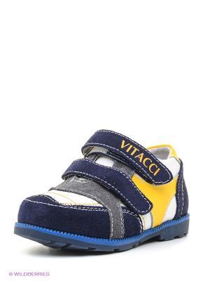Кроссовки Vitacci. Цвет: белый, синий