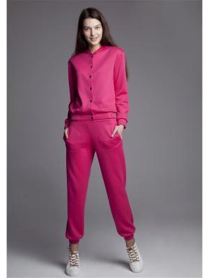 Куртка ЛитанияMIR. Цвет: розовый