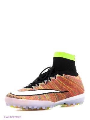 Шиповки MERCURIALX PROXIMO STREET TF Nike. Цвет: оранжевый