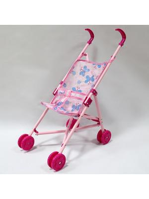 Коляска для кукол Amico. Цвет: розовый