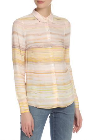 Блузка Basler. Цвет: бежевый