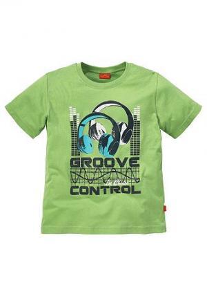 , футболка для мальчиков CFL. Цвет: цвет зелёного лайма