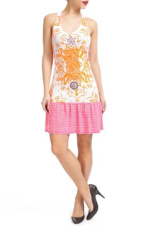 Платье Custo Barcelona. Цвет: multicolor