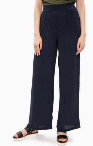 Расклешенные трикотажные брюки ALCOTT. Цвет: синий
