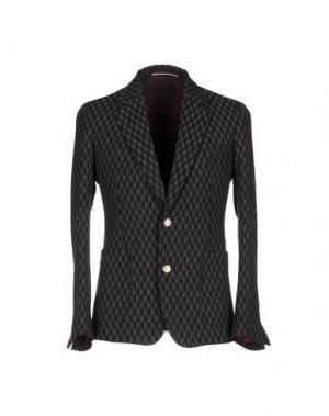 Пиджак REVERES 1949. Цвет: стальной серый
