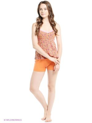 Пижама Далиса. Цвет: оранжевый