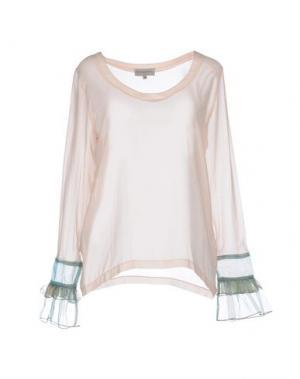 Блузка HEIMSTONE. Цвет: светло-розовый