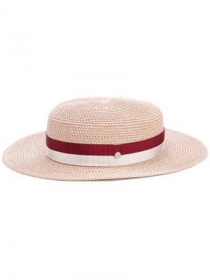 Шляпа Lila Maison Michel. Цвет: розовый и фиолетовый
