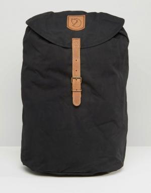 Fjallraven Черный рюкзак объемом 15 литров Greenland. Цвет: черный