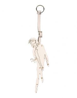 Брелок для ключей VALENTINO GARAVANI. Цвет: бежевый