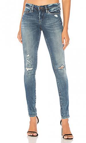Состаренные облегающие джинсы BLANKNYC. Цвет: none