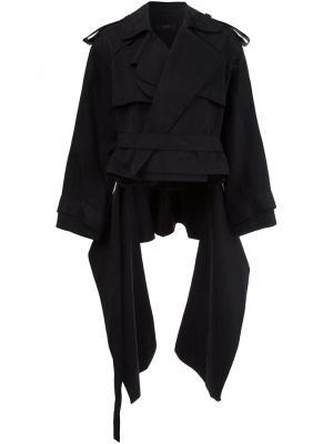 Укороченная куртка Ellery. Цвет: чёрный