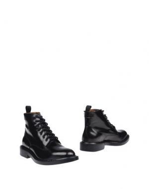 Полусапоги и высокие ботинки MARC JACOBS. Цвет: темно-коричневый