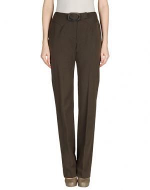 Повседневные брюки AINOS. Цвет: хаки