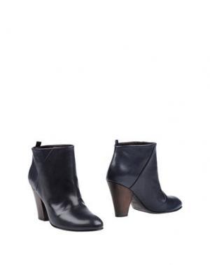 Полусапоги и высокие ботинки MEGUMI OCHI. Цвет: темно-синий