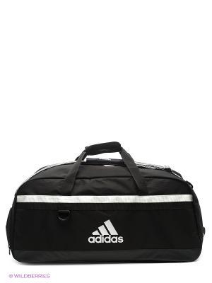 Сумка TIRO TB L Adidas. Цвет: черный, белый
