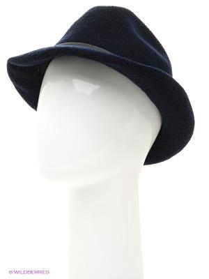 Шляпа Stefanel. Цвет: темно-синий, золотистый
