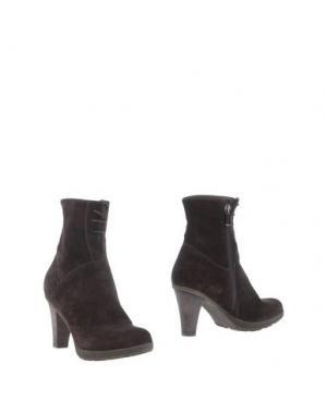 Полусапоги и высокие ботинки DANIELE TUCCI. Цвет: темно-коричневый