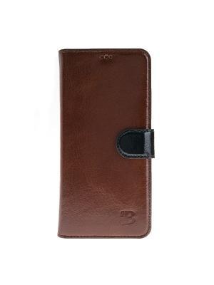 Чехол книжка Samsung Galaxy S8 Burkley. Цвет: коричневый