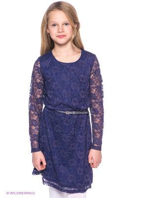 Платье S`Cool. Цвет: синий