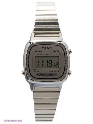 Часы Casio LA670WEA-7E. Цвет: серебристый