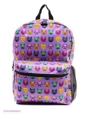 Рюкзак Mojo Backpacks. Цвет: сиреневый