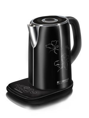 Чайник REDMOND RK-M130D, 2400 Вт, 1,7 л. Цвет: черный