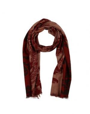 Палантин MARINA D'ESTE. Цвет: красно-коричневый
