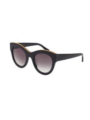Солнцезащитные очки Stella McCartney. Цвет: черный