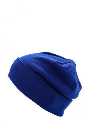 Шапка Reebok. Цвет: синий