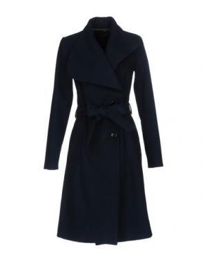 Пальто ANNARITA N.. Цвет: темно-синий