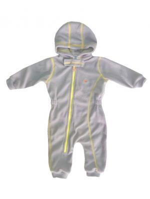 Комбинезон для малышей ЛисФлис. Цвет: серый, желтый