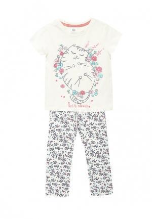 Пижама Sela. Цвет: белый
