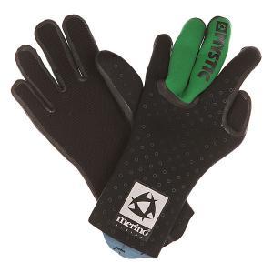 Перчатки (гидро)  Merino Wool Glove Black Mystic. Цвет: черный,зеленый