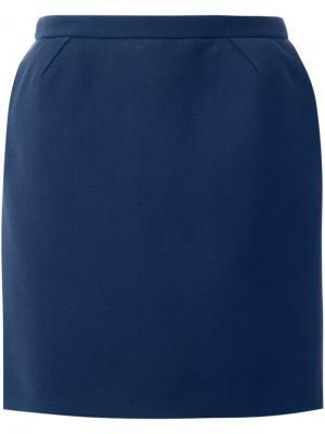 Короткая юбка Delpozo. Цвет: синий
