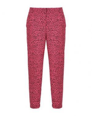 Повседневные брюки JOLIE by EDWARD SPIERS. Цвет: фуксия