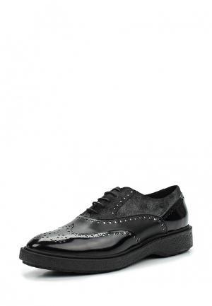 Ботинки Geox. Цвет: черный