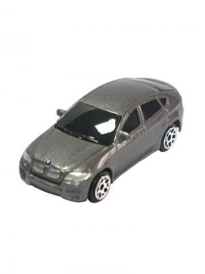 Машинка BMW X6, Серая (1:64) (PS-344002S-G) Pit Stop. Цвет: серый