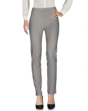 Повседневные брюки SIYU. Цвет: бирюзовый